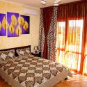Пансионат Бриз de Luxe - De Lux корпус №3 - номер 1комнатный кровать