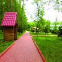 Санаторий Хмельник - аллея в парке