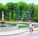 Санаторий Хмельник - фонтан