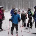 Санаторий Квитка полоныны - катание на лыжах