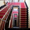 Санаторий Квитка полоныны - Лестница на этажы