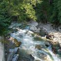 Комплекс отдыха Lavandа Country Club - горная река вдоль территории отеля