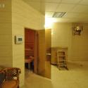 Отель Лесная Песня - вход в сауну
