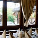 Гостиничный комплекс Шале Грааль - летняя площадка в ресторане